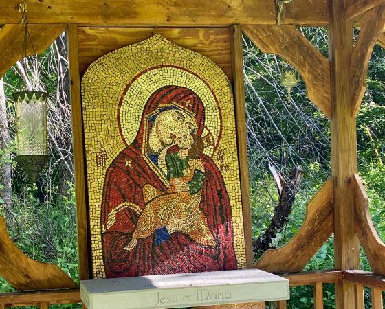 Falls – Holy Mother Mosaic