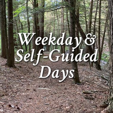 Weekday and Self-Guided Days
